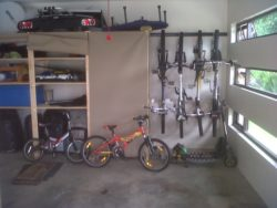 Combined with our hook and rail systems we can transform your garage intoo a neat and organised space
