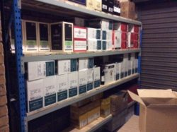 Pallet Racking - Longer customised shelving. Perfect for liquore storerooms