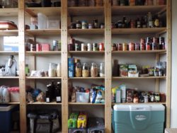 Our shelving works perfectly in pantries as the shelves can be adjusted