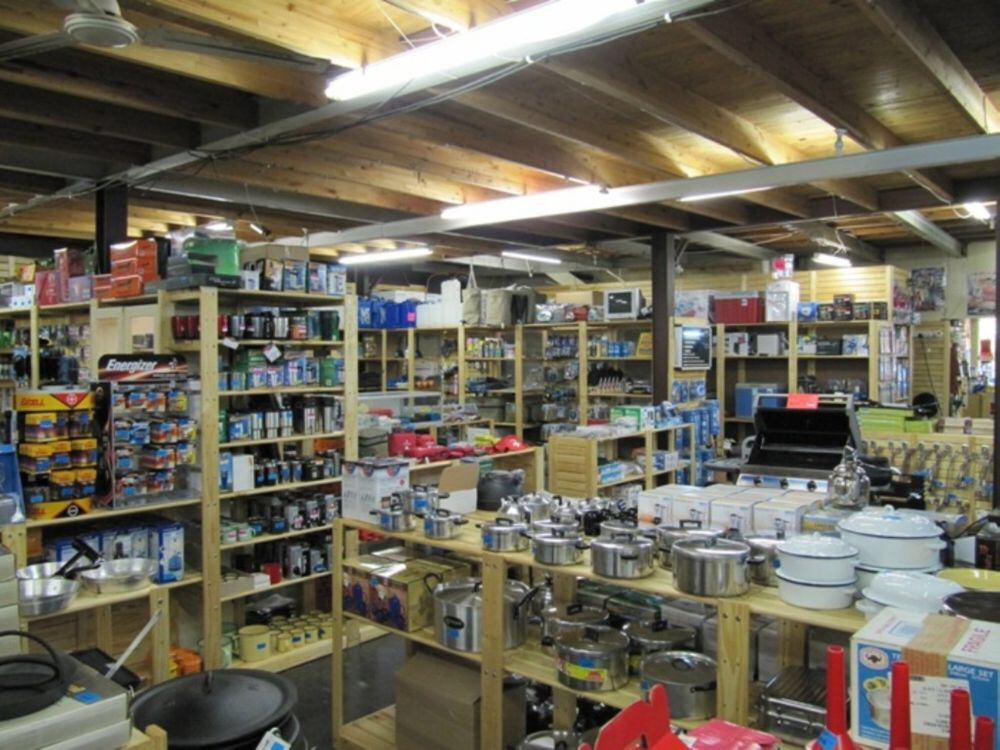 Image showing lots of shelves in the front end of a shop
